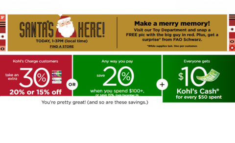 Kohl's Stacking Promo Codes + Free Shipping!   How to Shop