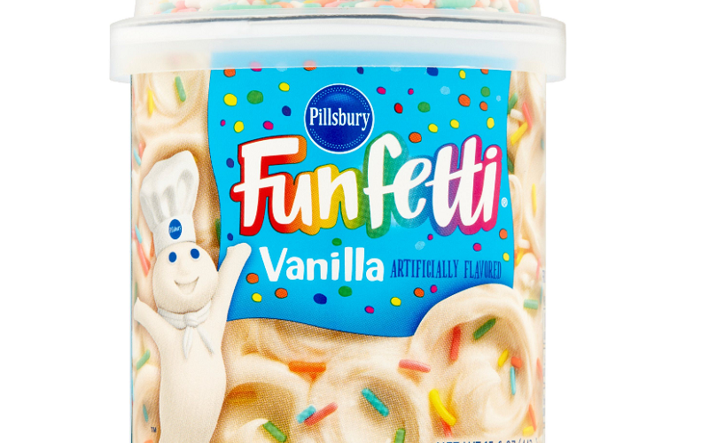 Pillsbury Funfetti Frosting Only $1.25!