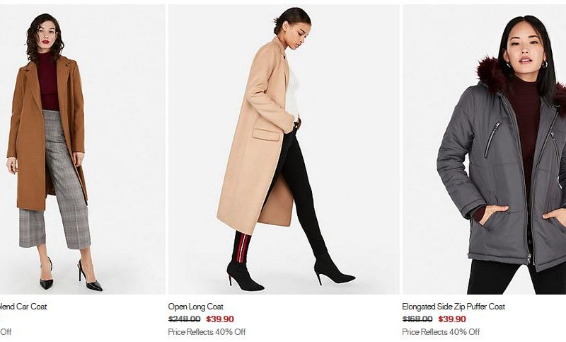 Express is Glitching!! Up to 85% off Jackets!!