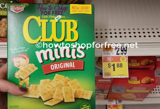 Keebler Club Mini's ONLY $.13 at Stop & Shop!