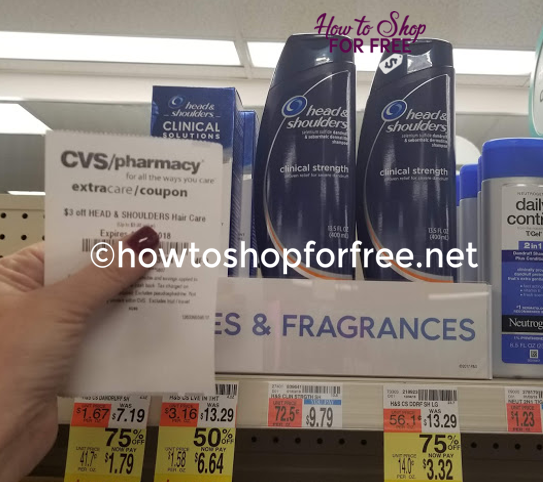 Head & Shoulders Clinical ONLY $.32 at CVS! ~ CLEARANCE!