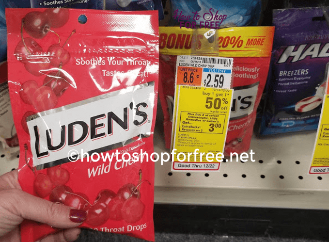 Luden's Drops ONLY $.07 at CVS!