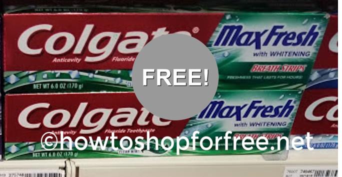 F*R*E*E Colgate Toothpaste at CVS!