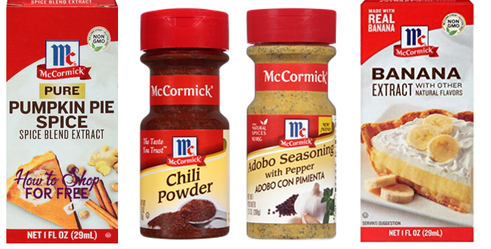 FREE McCormick Extracts or Spices at Shop Rite! + Possible MM!