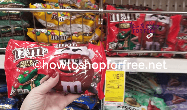 Get Bags of M&M's for ONLY $1.00 at CVS!