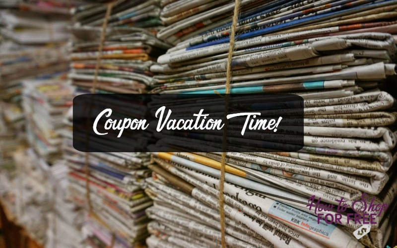 Coupon Vacation Time!