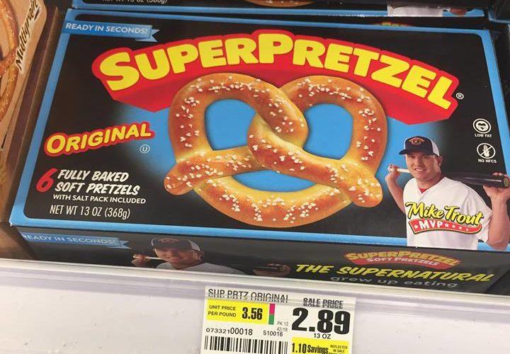 $.50 SuperPretzels! Snack time!!