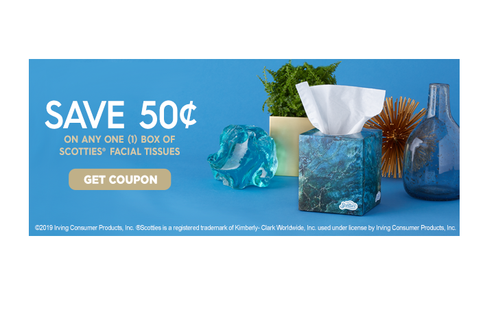 picture about Scotties Tissues Printable Coupon known as 50 Off A single Box of Scotties Tissues How toward Retail store For Free of charge