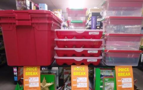 Is Dollar General Open On Christmas.Wow Christmas Totes And Other Holiday Clearance For Cheap