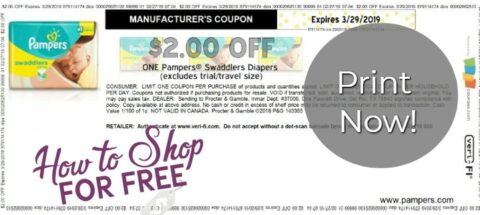 graphic relating to Printable Pampers Coupons identify PAMPERS COUPON How towards Keep For Cost-free with Kathy Spencer