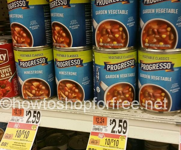 picture regarding Printable Progresso Soup Coupons referred to as Progresso How towards Store For Absolutely free with Kathy Spencer