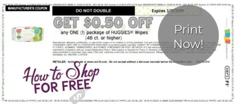 photo relating to Huggies Wipes Coupon Printable referred to as huggies wipes coupon How toward Retailer For Totally free with Kathy Spencer