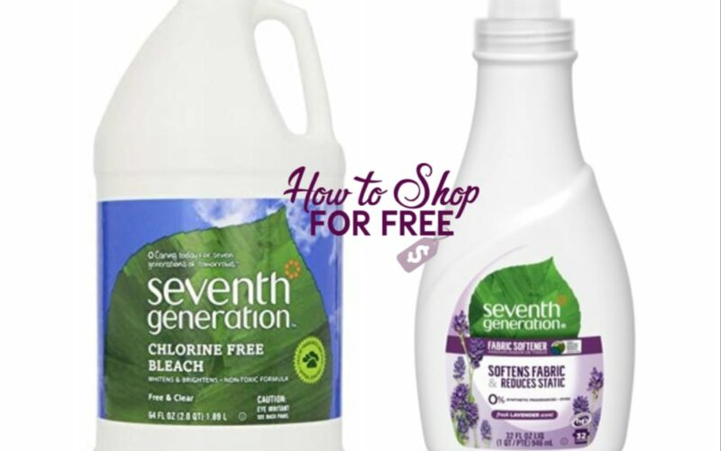 seventh generation | How to Shop For Free with Kathy Spencer