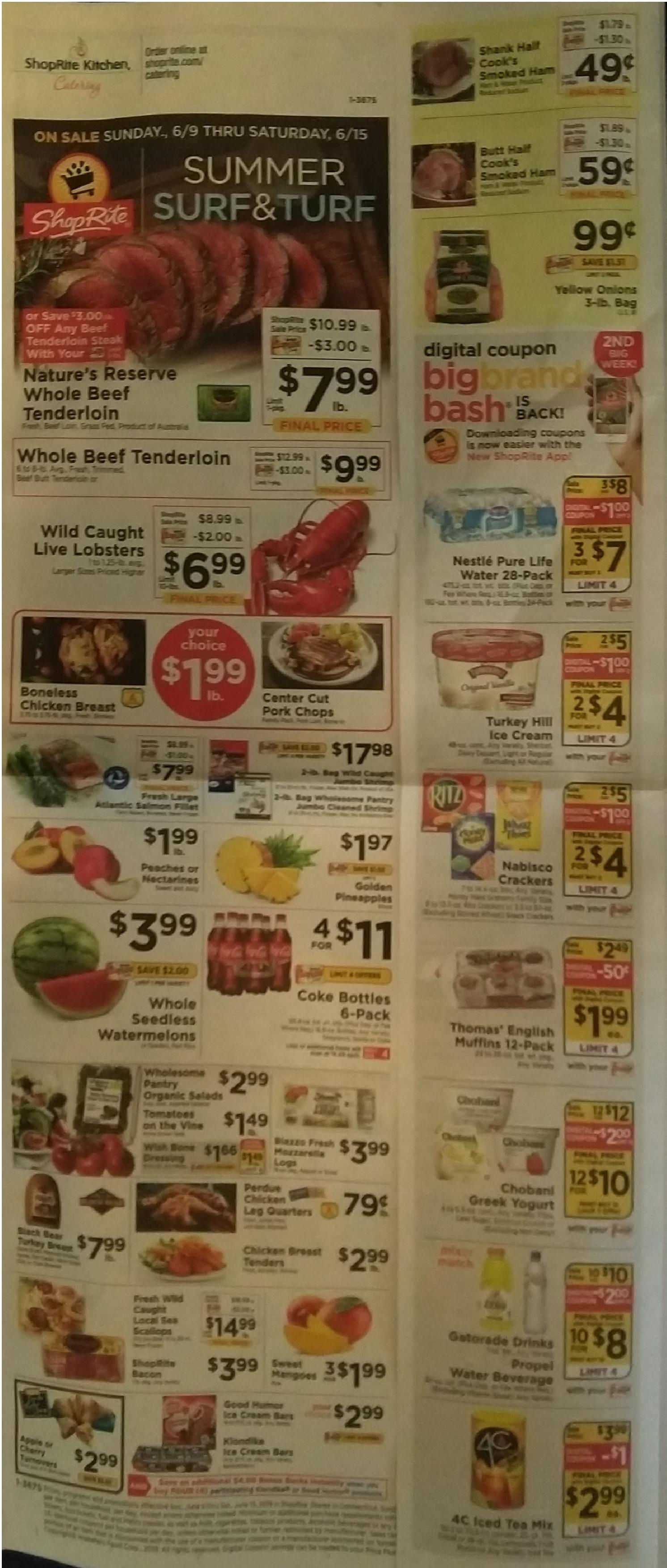 shoprite deals 9/6/15