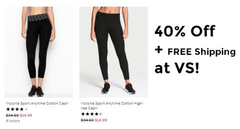 eb33df7129f6e Victoria's Secret Leggings as low as $8.99 shipped! | How to Shop ...