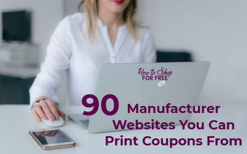 Websites To Print Coupons