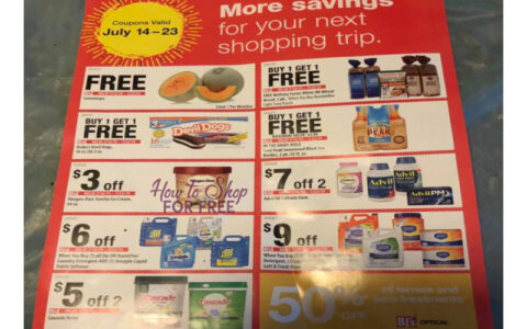 photo about Bjs Printable Coupons identify BJs Wholesale Inside-Retailer Coupon Sheet July 14th -23rd! How