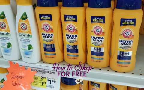 arm and hammer body wash