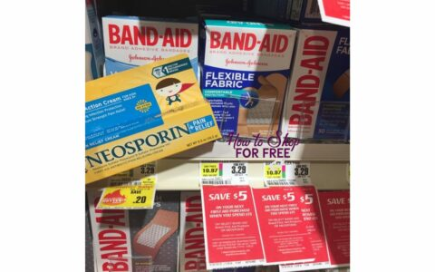 Bandaid and Neosporin for a GREAT price! [7/14-7/20] | How