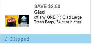 photo regarding Glad Trash Bags Printable Coupon referred to as Superior Cost Coupon for Pleased Trash Luggage!! How towards Store For