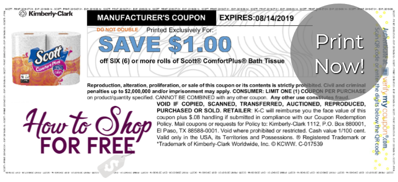 photograph relating to Scott Printable Coupons named Fresh new Scott Printable Coupon How in direction of Retail store For Free of charge with Kathy