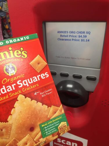 Annie's Cheddar Squares Clearance at CVS- $0 89 per box!! | How to