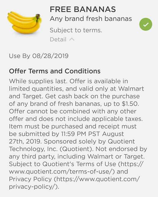Free Banananas Coupons App   How to Shop For Free with Kathy