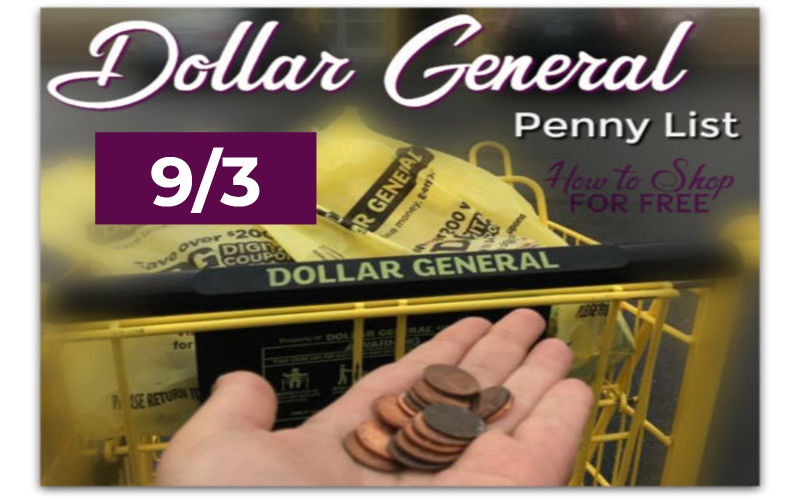 Dollar General Penny List 9/3/19 | How to Shop For Free with
