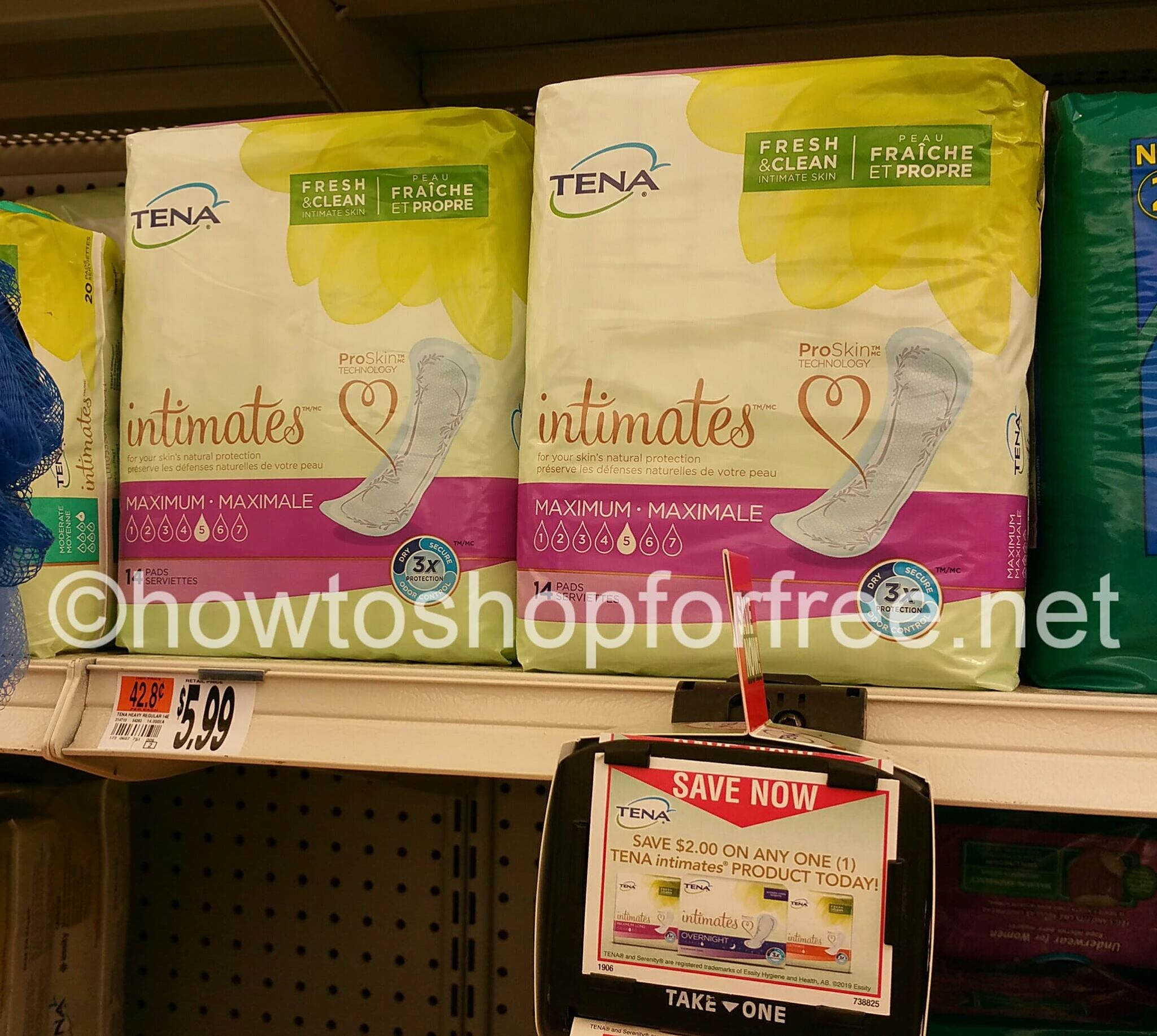 image relating to Tena Coupons Printable identified as No cost Tena at End Retail store How in direction of Retail store For Free of charge with Kathy