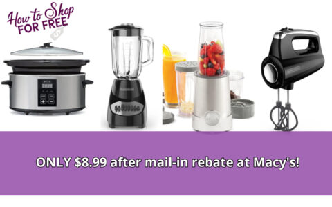 Bella and Black & Decker Small Kitchen Appliances ONLY $8.99 ...
