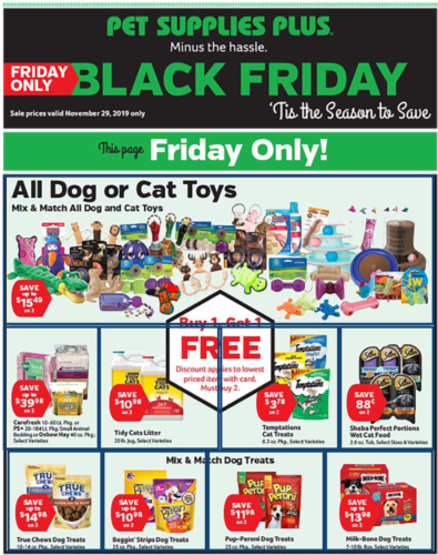 Pet Supplies Plus Black Friday Ad 2019 How To Shop For