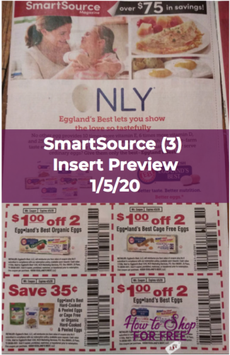 SmartSource Insert Preview (3) for 1/5/20 | How to Shop ...