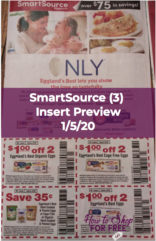 Smartsource Insert Preview 3 For 1 5 20 How To Shop For Free With Kathy Spencer