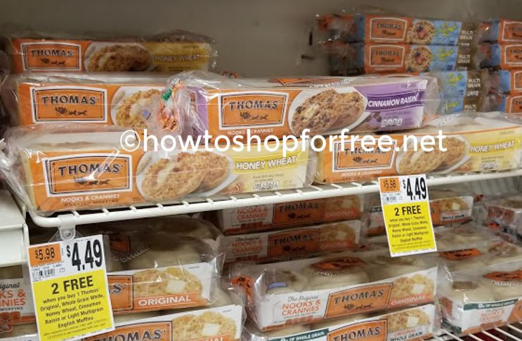 Thomas English Muffins Only 1 50 At Stop Shop No Coupons Needed How To Shop For Free With Kathy Spencer