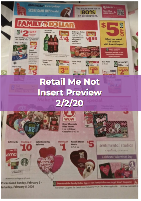 Retail Me Not Insert Preview 2 2 20 How To Shop For Free With Kathy Spencer