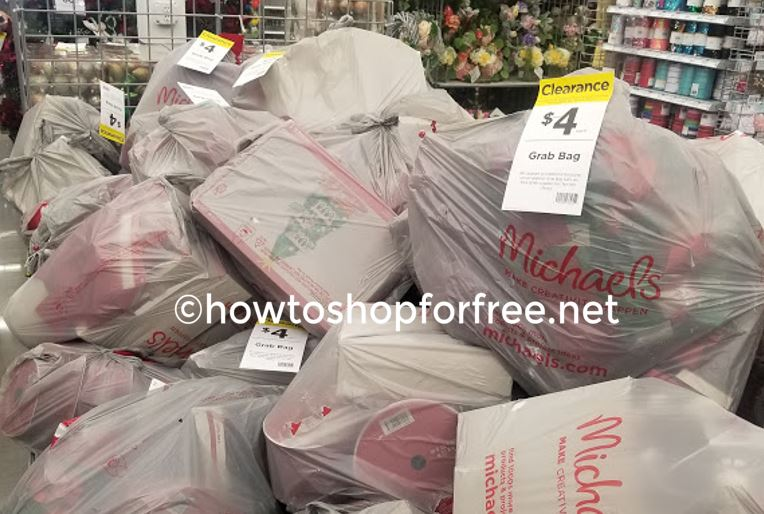 RUNN!!! $4 Christmas Grab Bags at Michael's! | How to Shop For