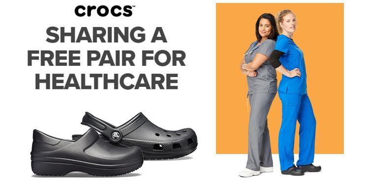 crocs - Crocs provides free sneakers to medical staff throughout coronavirus pandemic