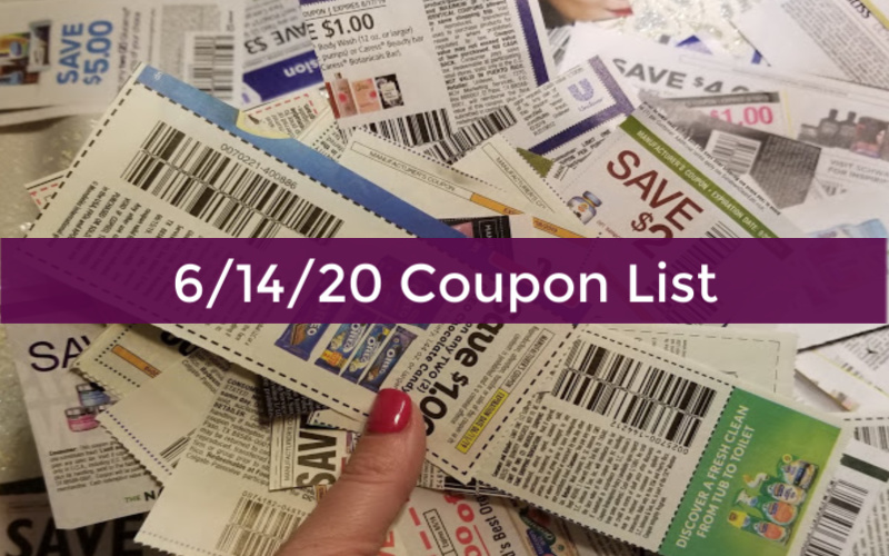 6 14 20 Sunday Coupon Insert How To Shop For Free With Kathy Spencer