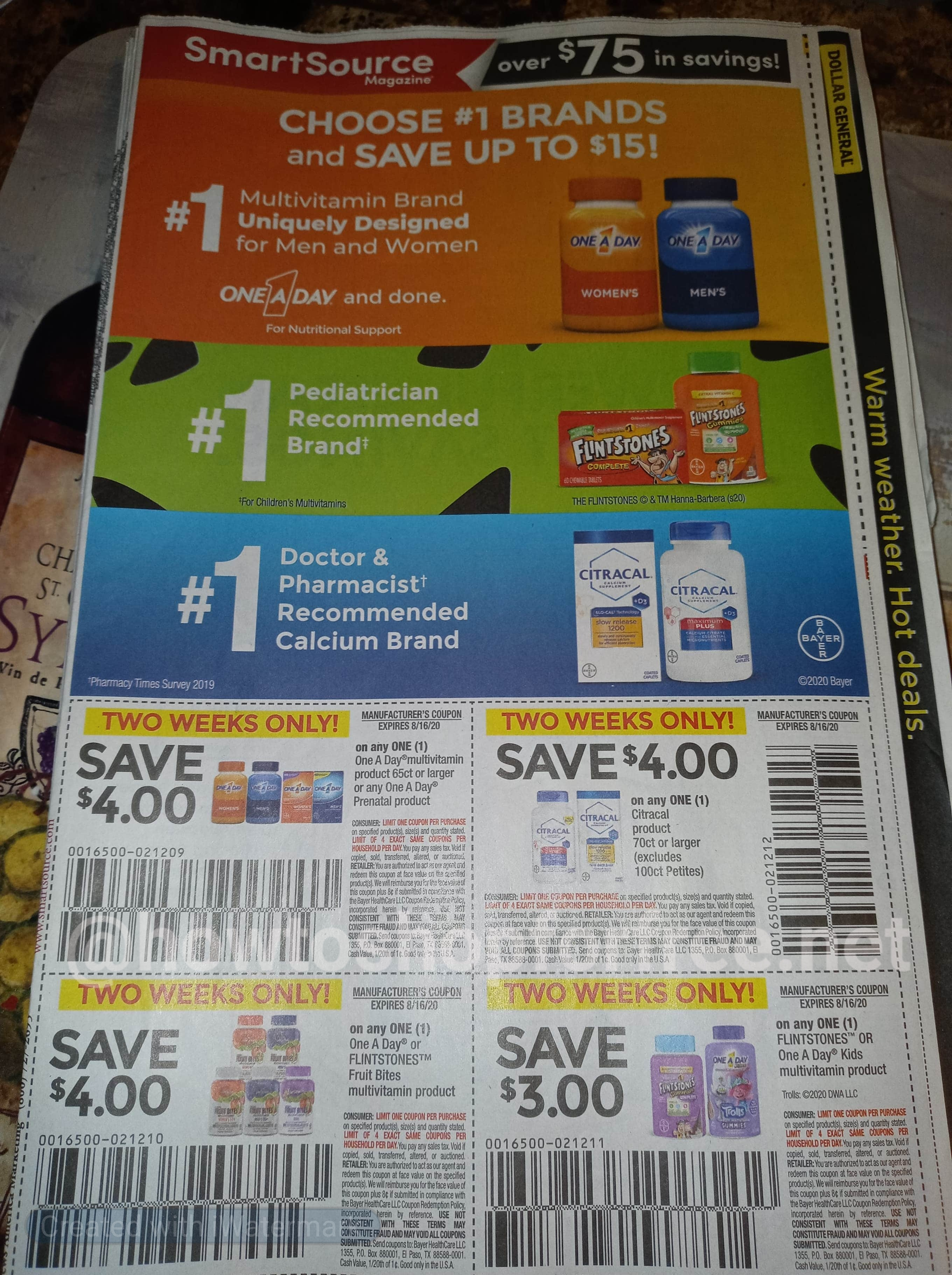 Smartsource Insert Preview 8 2 How To Shop For Free With Kathy Spencer