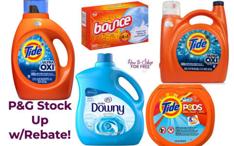 P G Laundry Stock Up Deals With Rebate 8 16 8 22 How To Shop For Free With Kathy Spencer